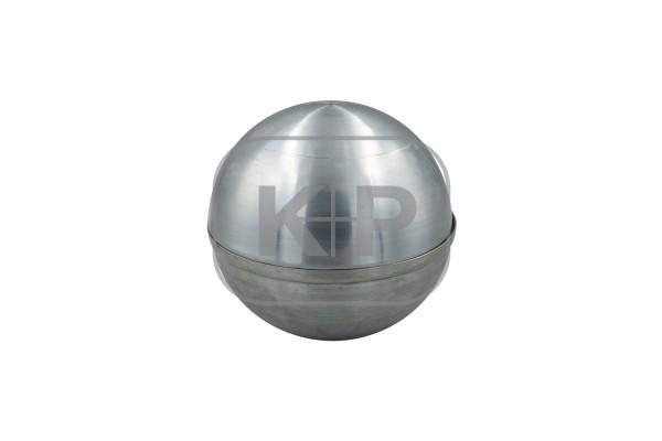 Zink-Kugel Ø 100 mm ohne Wulst (zweiteilig)
